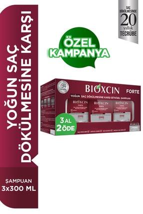 Bioxcin Forte Saç Dökülmesine Karşı Şampuan 300ml 3 Al 2 Öde