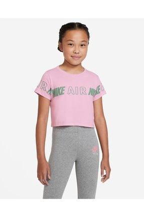 Nike Nsw Tee Crop Air Taping Çocuk T-shirt Cz1249-676