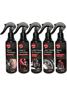 Gojo Motosiklet Bakım Temizlik Seti 5 Parça