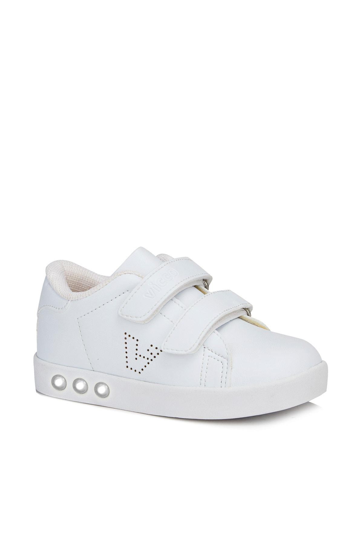Vicco Oyo Unisex Ilk Adım Beyaz Spor Ayakkabı 1