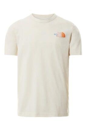 THE NORTH FACE Erkek Beyaz Himalayan Bottle Source T-shirt