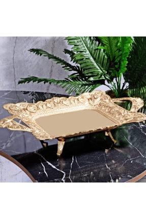 MOS'EV Gold Dikdörtgen Çikolatalık 36x24cm