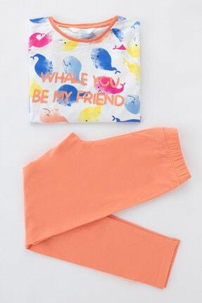 Penti Kız Çocuk Çok Renkli Teen Whale Ss 2li Pijama Takımı