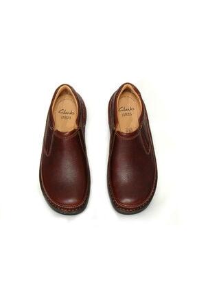 CLARKS Erkek Ayakkabı Active Air Kahverengi Bağcıksız Şık Ve Rahat Ürün Adı Nature Easy