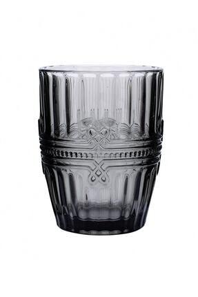 Karaca Twist Cam Su Bardağı Gri
