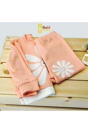 Gubi Kids Ayçiçeği 2 Li Set Bebek Takımı