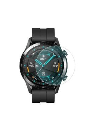 Huawei Watch Gt2 Pro Birebir Uyumlu Slim Yapılı Tam Kaplayan Cam Ekran Koruyucu