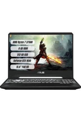 """ASUS FX505DT-BQ030 Amd Ryzen 7 3750H 8GB Ram 512GB SSD Gtx 1650 Freedos 15.6"""" FHD Taşınabilir Bilgisayar"""