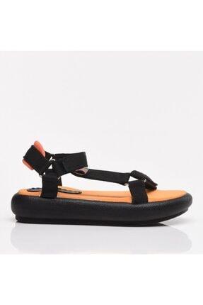 Hotiç Siyah Kadın Sandalet