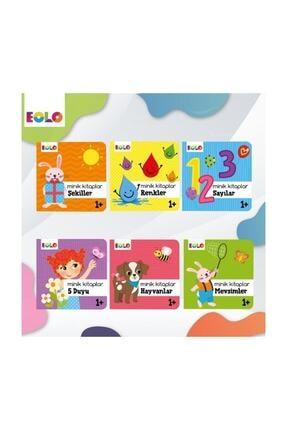 eolo yayınları Minik Kitaplar - 6 Bebek Kitabı Birarada Eolo