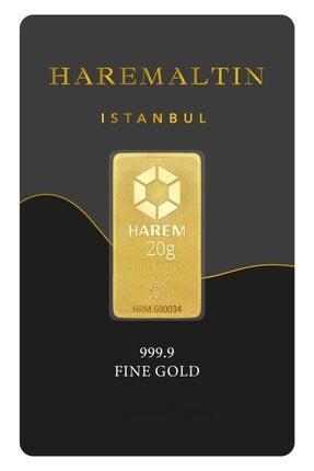 Harem Altın 20 g 999.9 Harem Gram Külçe Altın