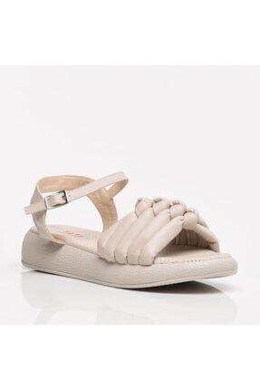 Hotiç Kemik Kadın Sandalet