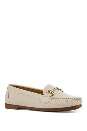 İnci Daınte.z 1pr Bej Kadın Loafer Ayakkabı