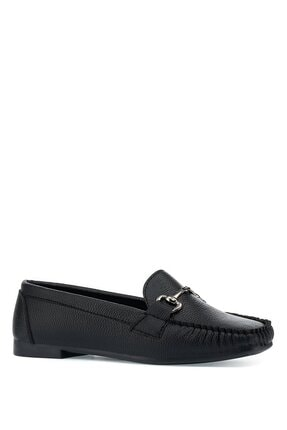 İnci Daınte.z 1pr Siyah Kadın Loafer Ayakkabı