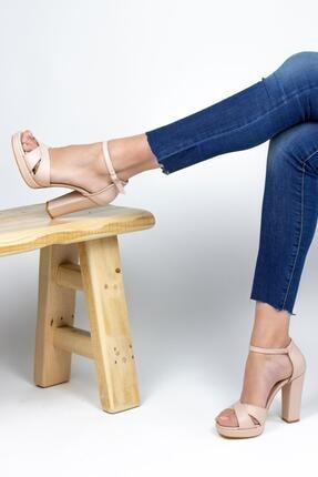 Gökhan Talay Odette Platform Topuklu Klasik Kadın Topuklu Ayakkabı