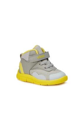 Vicco Nano Hafif Unisex Ilk Adım Gri/sarı Günlük Ayakkabı