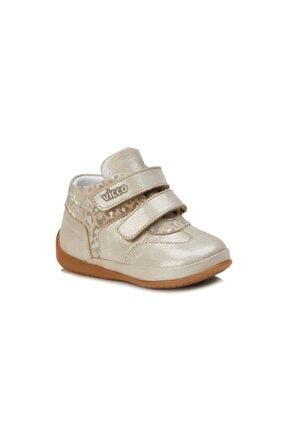 Vicco Adrian Metalik Kız Ilk Adım Altın Günlük Ayakkabı