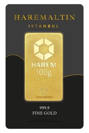 Harem Altın 100 Gr 999.9 Harem Gram Külçe Altın