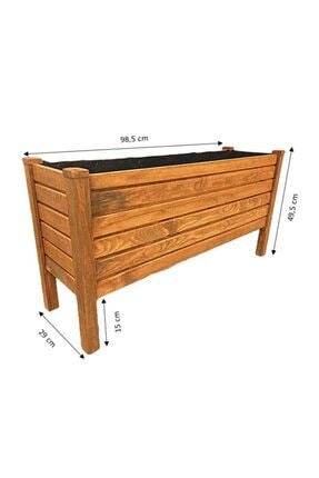 SMY Wood Ahşap Saksı Saksılık 35000