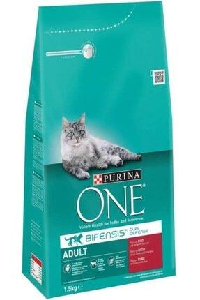 Purina One Bifensis Yetişkin Kediler Için Sığır Etli Tam Kuru Kedi Maması 1.5kg