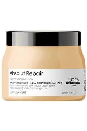 L'oreal Professionnel Serie Expert Absolut Repair Yıpranmış Saçlar Için Onarıcı Maske 500 ml