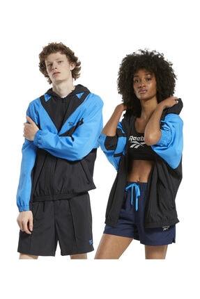 Reebok Unisex Yetişkin Sweatshirt CL TRACKTOP (REE)CY GK3074
