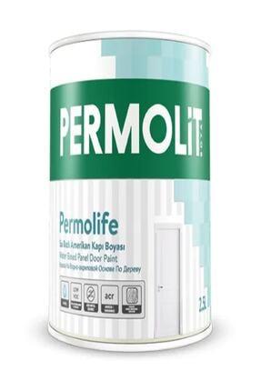Permolit Permolife Su Bazlı Amerikan Kapı Boyası 0.75lt Beyaz