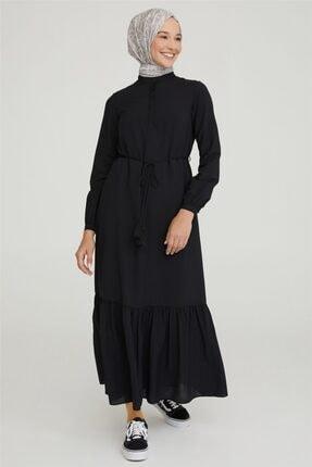 Armine Elbise 21y9278 Siyah