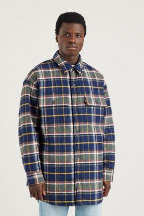 Levi's Erkek Bernal Heights Overshirt Oversize Kalın Gömlek
