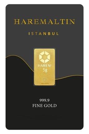 Harem Altın 5 Gr 999.9 Harem Gram Külçe Altın