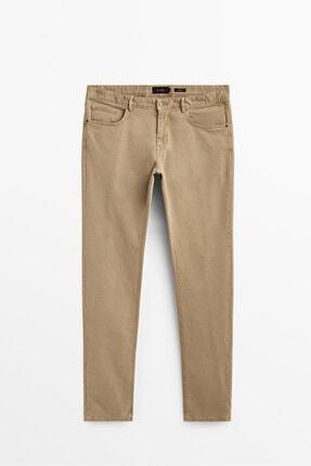 Massimo Dutti Erkek Slim Fit Fitilli Denim Görünümlü Pantolon 00055045