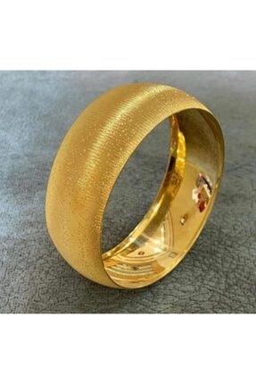 barış gold altın kaplama 22 Ayar Altın Kaplama Kadın 2 cm  Eninde Bilezik