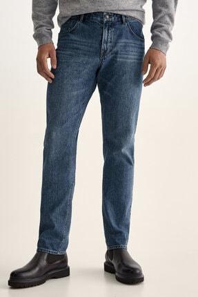 Massimo Dutti Erkek Distressed Detaylı Slim Fit Jean 00060060