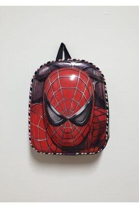 SPIDERMAN 3d Kabartmalı Anaokulu Kreş Ve Günlük Kullanım Spiderman Çanta