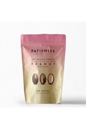 Patiswiss Şekersiz Sütlü Yer Fıstığı 1 Adet 80 G