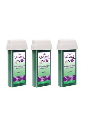 Vi-vet Roll-on Kartuş Sir Ağda Azulen  3 Adet 100 ml