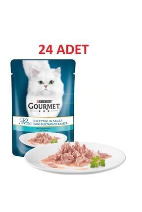 Purina Gourmet Perle Izgara Ton Balıklı Yaş Kedi Maması 85 Gr 24 Adet