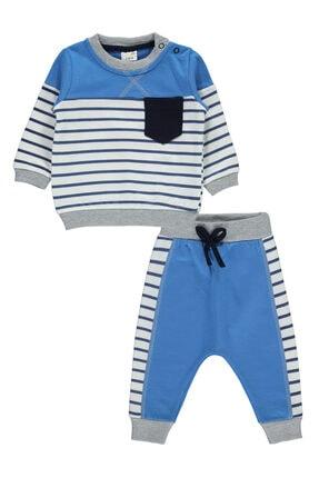 Civil Baby Erkek Bebek Takım 6-18 Ay Saks Mavisi