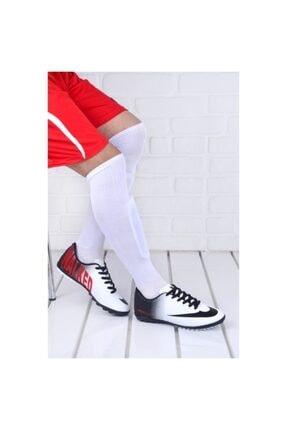 Walked 401 Beyaz Erkek Halı Saha Ayakkabısı