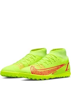 Nike Superfly 8 Club Tf Erkek Halı Saha Ayakkabı Cv0955 760-sarı