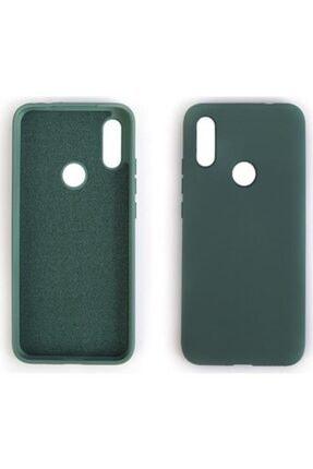 Sunix Xaoimi Redmi Note 8 Pro Kılıf Lansman Kılıf Içi Kadife Yumuşak Yüzey Renkli Telefon Kılıfı Yeşil