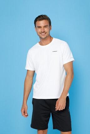 lumberjack Sn530 Rafael T-shırt Beyaz Erkek T-shirt