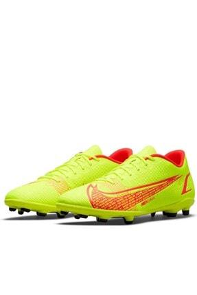 Nike Vapur 14 Tf/ Mg Erkek Krampon Ayakkabı Cu5692-760-sarı