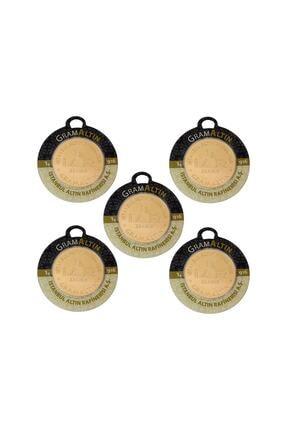 Tuğrul Kuyumculuk 5 Adet 1 Gr 22 Ayar Gram Altın G000025