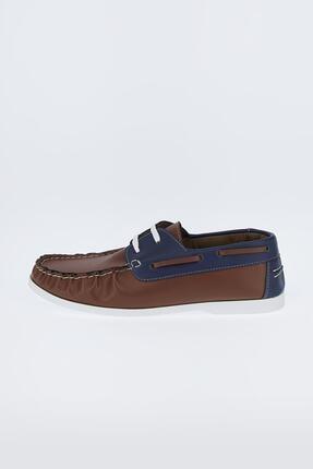 DeFacto Erkek Kahverengi Suni Deri Bağcıklı Günlük Ayakkabı