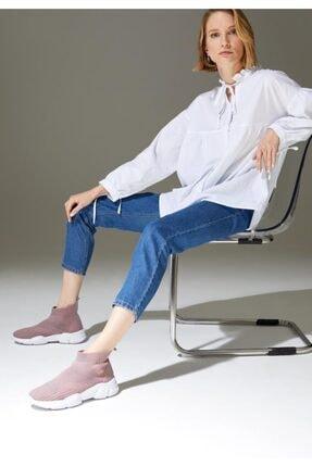 DeFacto Kadın Pembe Çorap Tipi Yüksek Bilekli Spor Ayakkabı