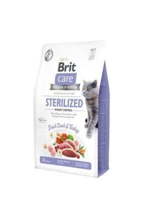 Brit Care Sterilized Tahılsız Kilo Kontrolü Ördek Ve Hindi Etli Kısır Kedi Maması 7 Kg.