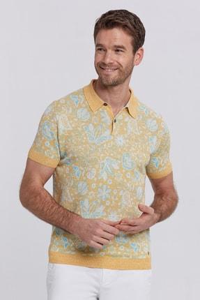 Hemington Erkek Sarı  Polo Yaka T-shirt