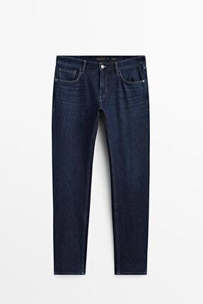 Massimo Dutti Erkek Slim Fit Jean Pantolon 00059059
