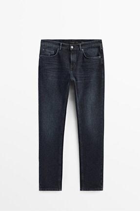 Massimo Dutti Erkek Slim Fit Jean Pantolon 00036036